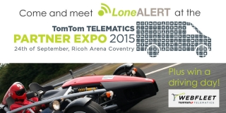 Visit Advance IT Group Limited's LoneALERT at the TomTom TELEMATICS Partner Expo 2015